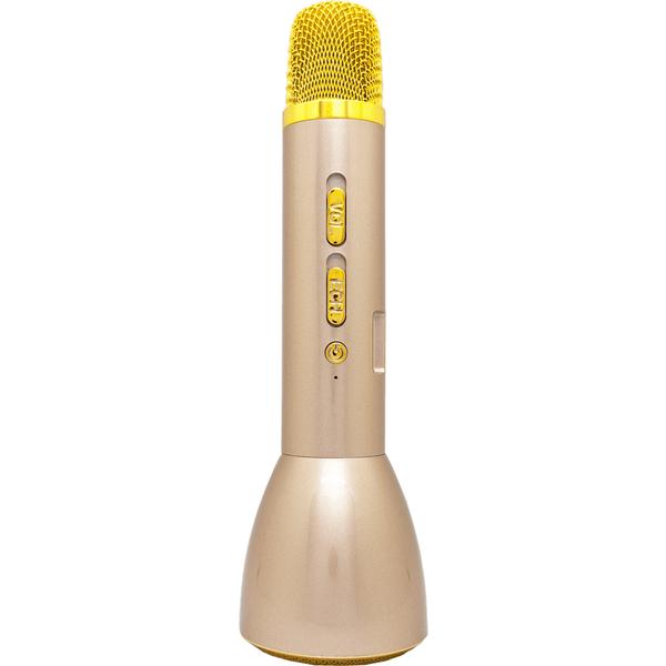 ゴッパ Bluetoothカラオケマイク GP-BTMIC1/G [Bluetoothカラオケマイク(Gold)]