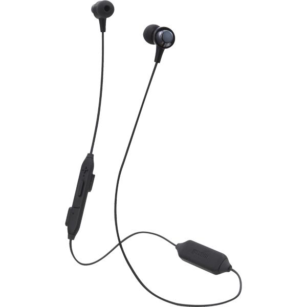 日立マクセル ブルートゥースヘッドホン MXH-BTC110BK [カナル型Bluetoothヘッドホン(イヤホン) ブラック]
