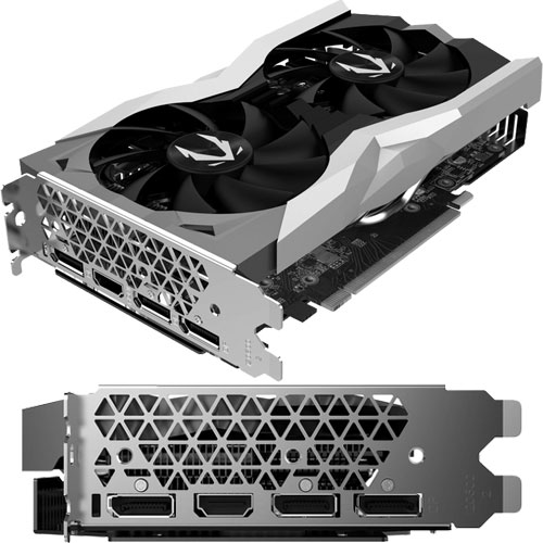 ZOTAC ZTRTX2060-6GGDR6TWIN/ZT-T20600F-10M [GAMING GeForce RTX 2060 Twin Fan]