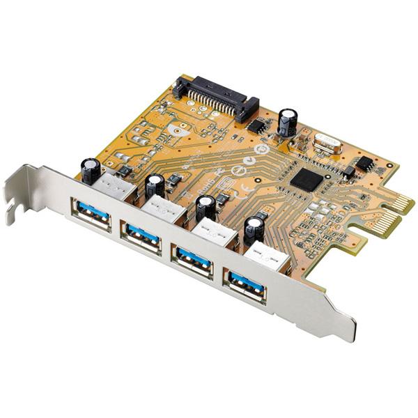 アイオーデータ US3-4PEXR US3-4PEXR [USB3.1 Gen1(USB3.0)/2.0インターフェイスボード]