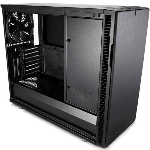 Fractal Design FD-CA-DEF-R6C-BKO-TGL [E-ATX ミドルタワーケース Define R6 USB-C TG ブラックアウト]