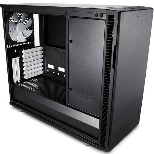 Fractal Design FD-CA-DEF-R6C-BK-TGL [E-ATX ミドルタワーケース Define R6 USB-C TG ブラック]