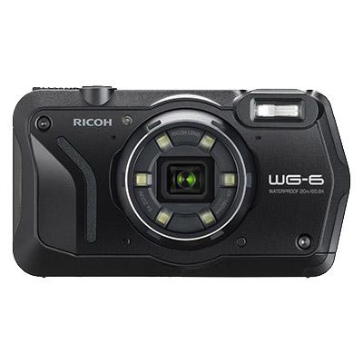 WG-6BK [防水デジタルカメラ WG-6 (ブラック)]