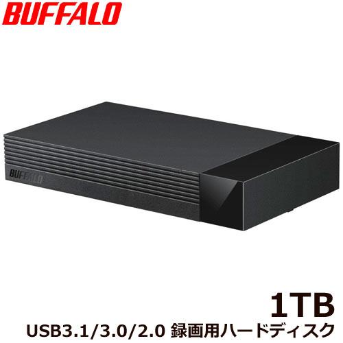 バッファロー HDV-LLD1U3BA/D [外付けHDD USB3.1 Gen1対応 みまもり合図 for AV 24時間連続録画対応 静音設計 1TB]