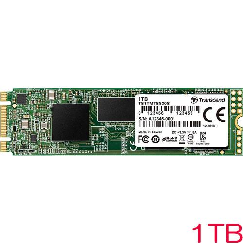 TS1TMTS830S [1TB SSD MTS830S M.2 Type 2280 SATA-III DDR3キャッシュ 3D TLC NAND 5年保証]