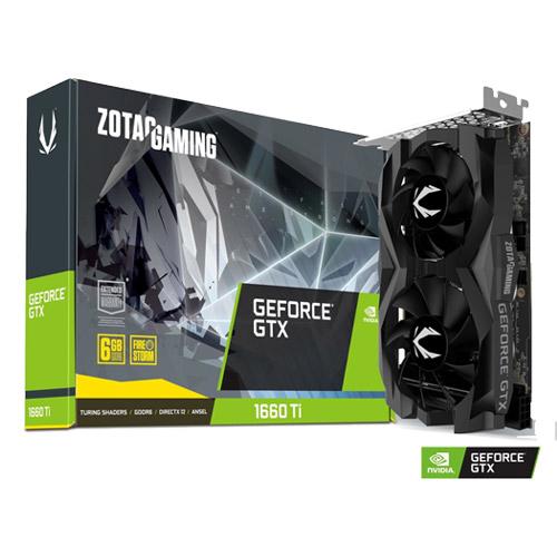 ZOTAC ZTGTX1660TI-6GB/ZT-T16610F-10L [GAMING GeForce GTX 1660 Ti 6GB GDDR6]