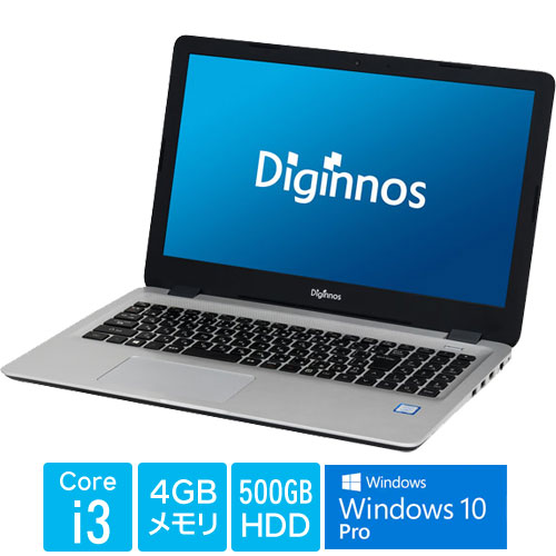 サードウェーブ ★超お買得Windows10ProノートPC★Critea DX-KS RH3 PRO[(Core-i3 4GB 500GB 15.6型 Win10Pro64)]