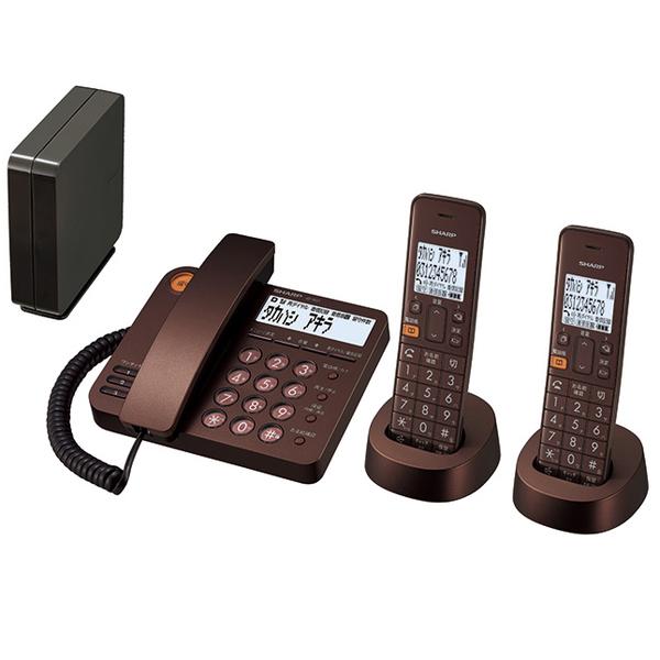 シャープ JD-XG1CW-T [デジタルコードレス電話機]