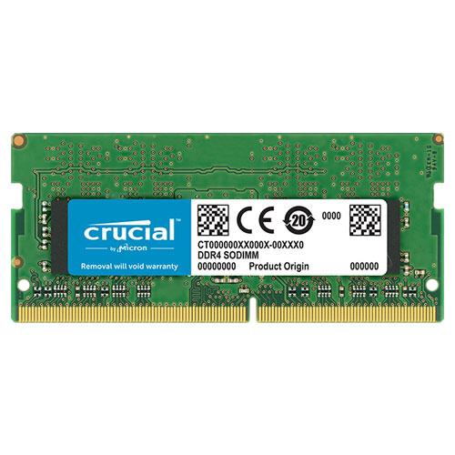 クルーシャル CT16G4SFD832A [16GB DDR4 3200 MT/s (PC4-25600) CL22 DR x8 Unbuffered SODIMM 260pin]