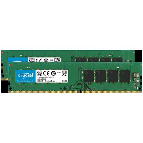 クルーシャル CT2K16G4DFD832A [32GB Kit (16GBx2) DDR4 3200 MT/s (PC4-25600) CL22 DR x8 Unbuffered DIMM 288pin]