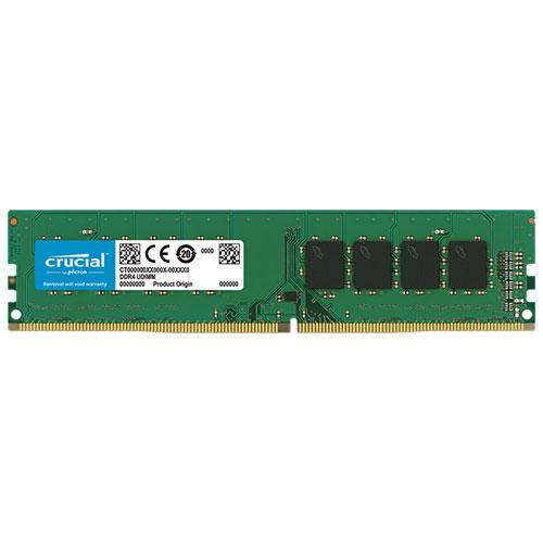 クルーシャル CT16G4DFD832A [16GB DDR4 3200 MT/s (PC4-25600) CL22 DR x8 Unbuffered DIMM 288pin]