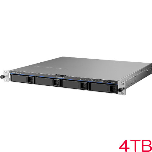 HDL4-X-U HDL4-X4-U [Linuxベース法人向け4ドライブラックマウントNAS 4TB]