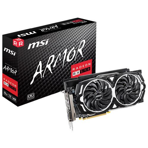 MSI Computer Radeon RX 590 ARMOR 8G OC