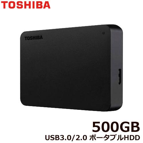 ポータブルHDD HDTB405FK3AA-D [ポータブルHDD 500GB ブラック]