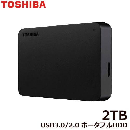 ポータブルHDD HDTB420FK3AA-D [ポータブルHDD 2TB ブラック]