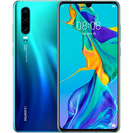 ファーウェイ(Huawei) ★限定特価★P30/Aurora(ELE-L29) [P30/Aurora/51093TYS]