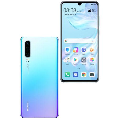 ファーウェイ(Huawei) ★限定特価★P30/Breathing Crystal(ELE-L29) [P30/Breathing Crystal/51093PYE]