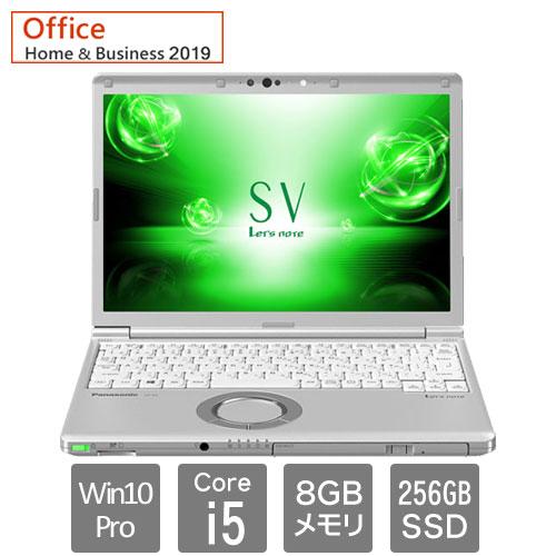 パナソニック Let's note SV7 CF-SV7HM4VS [SV7 DIS専用モデル(i5 SMD W10P 12.1 電S Office)]