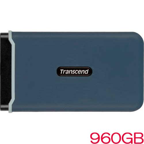トランセンド TS960GESD350C [960GB 耐衝撃ポータブルSSD ESD350C USB 3.1 Type-A/Type-C]