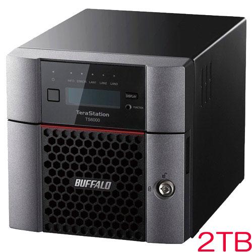 バッファロー TS6200DN0202 [TeraStation TS6000 2ベイ デスクトップNAS 2TB]