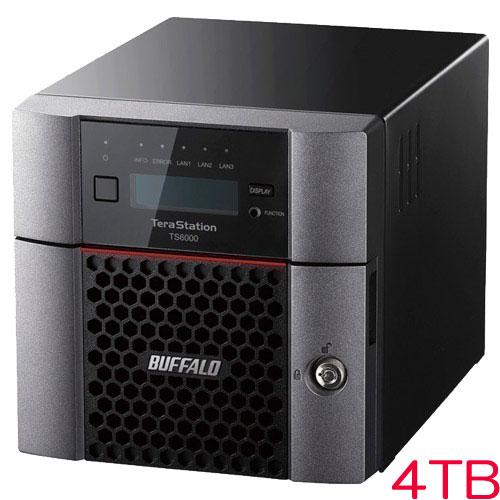 バッファロー TS6200DN0402 [TeraStation TS6000 2ベイ デスクトップNAS 4TB]