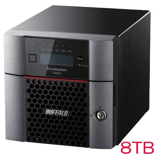 バッファロー TS6200DN0802 [TeraStation TS6000 2ベイ デスクトップNAS 8TB]