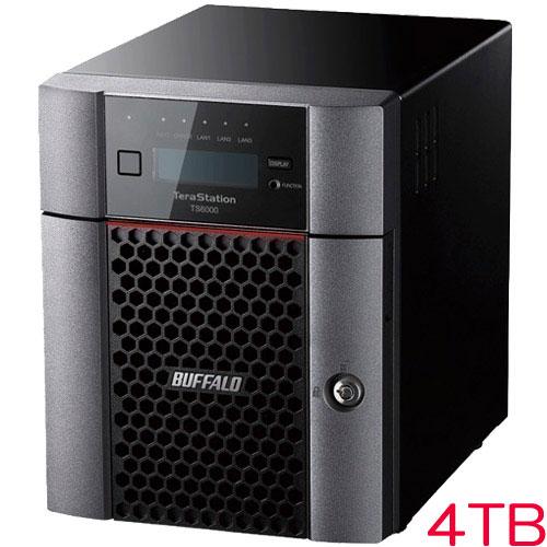 バッファロー TS6400DN0404 [TeraStation TS6000 4ベイ デスクトップNAS 4TB]
