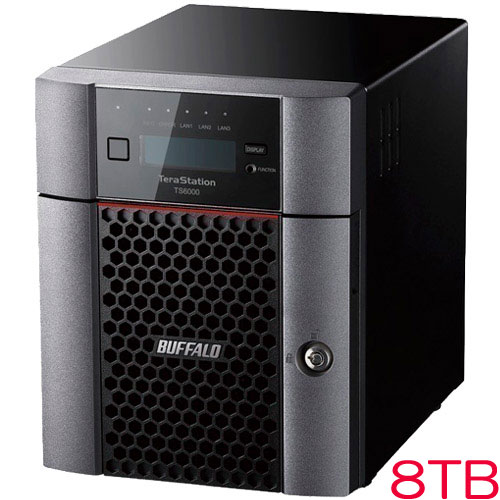 バッファロー TS6400DN0804 [TeraStation TS6000 4ベイ デスクトップNAS 8TB]