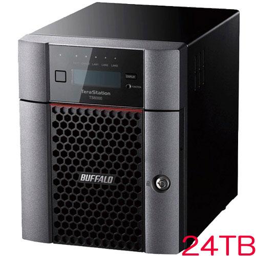 バッファロー TS6400DN2404 [TeraStation TS6000 4ベイ デスクトップNAS 24TB]
