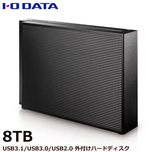 EX-HD8CZ [USB 3.1 Gen 1(USB 3.0)/2.0対応 外付ハードディスク 8TB]