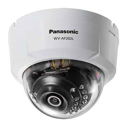 パナソニック HDアナログ監視システム WV-AF202L [HDアナログカメラ(屋内ドーム型 外部電源)]
