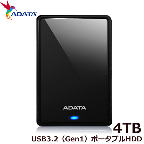 ADATA AHV620S-4TU31-CBK [ADATA ポータブルHDD AHV620S 4TB Black]