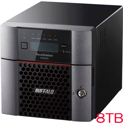 TeraStation WS5220DN08W9 [WS IoT2019WE 2ベイデスクトップNAS 8TB]