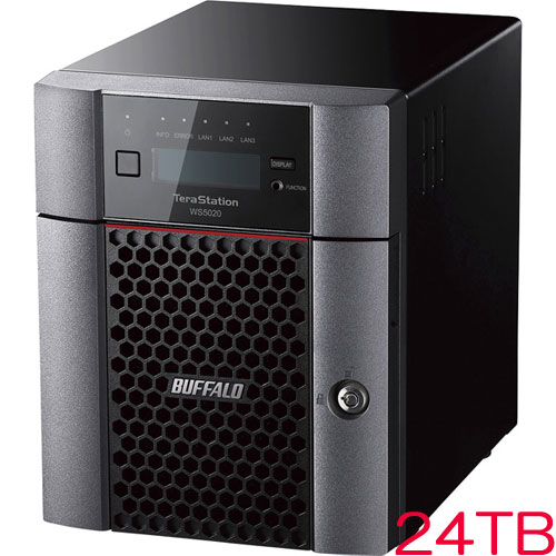 TeraStation WS5420DN24W9 [WS IoT2019WE 4ベイデスクトップNAS 24TB]