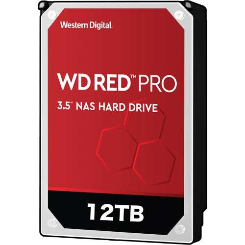 ウエスタンデジタル WD121KFBX [WD Red Pro(12TB 3.5インチ SATA 6G 7200rpm 256MB)]