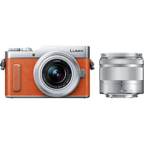 LUMIX(ルミックス) DC-GF90WA-D [デジタル一眼カメラ GF90 Wズームキット (オレンジ)]