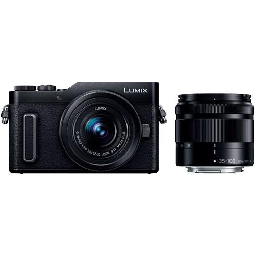 LUMIX(ルミックス) DC-GF90WA-K [デジタル一眼カメラ GF90 Wズームキット (ブラック)]