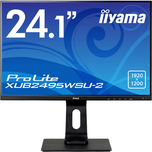 イーヤマ ProLite XUB2495WSU-B2 [24.1型ワイド液晶ディスプレイXUB2495WSU-2 ブラック]