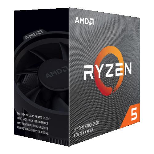 AMD 100-100000022BOX [Ryzen 5 3600X (6コア/3.8GHz/TDP 95W/Socket AM4) BOX with Wraith Spire cooler]