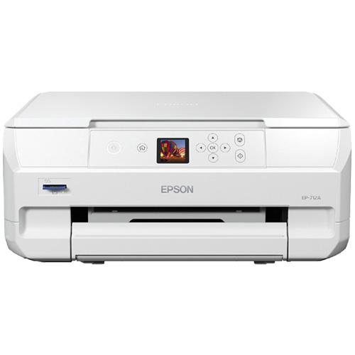 エプソン Colorio EP-712A [A4カラーインクジェット/多機能/6色/無線LAN/Wi-Fi Direct/1.44型液晶]
