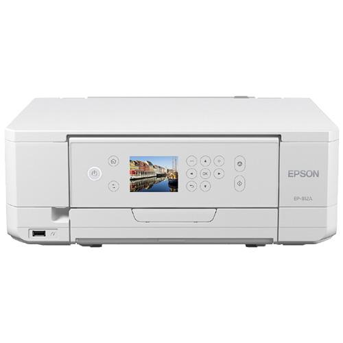 エプソン Colorio EP-812A [A4カラーインクジェット/多機能/6色/無線LAN/Wi-Fi Direct/両面/2.7型液晶]