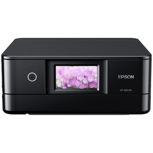 Colorio EP-882AB [A4カラーインクジェット/多機能//Wi-Fi Direct/両面/4.3型ワイドタッチパネル/ブラック]