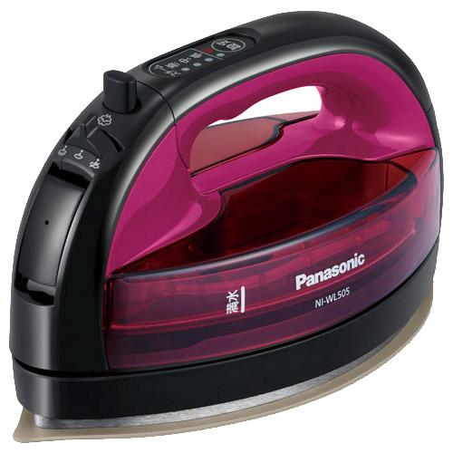 パナソニック カルル NI-WL505-P [コードレススチームアイロン (ピンク)]