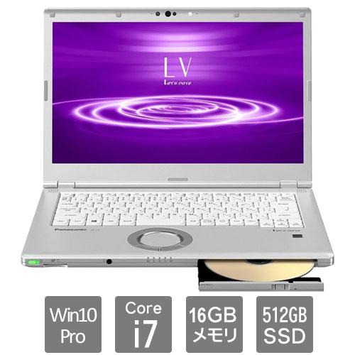 パナソニック CF-LV8SDKVS [Let's note LV8 法人モデル(i7vPro SM 10P 電L)] ビジネスPC