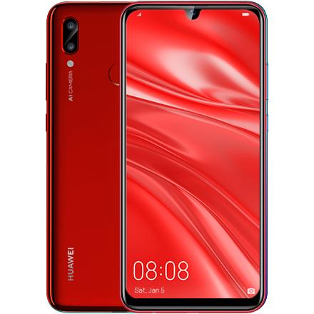 ファーウェイ(Huawei) nova lite 3/Coral Red/51093JFY [コーラルレッド]