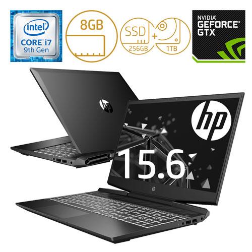 HP 7LG63PA-AAAA [Pavilion Gaming 15-dk0000 G1モデル(i7 8GB 256GB+1TB 1650 Pro)]