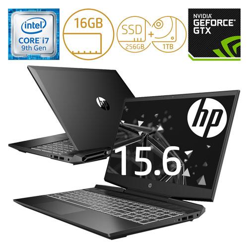 HP 7LG73PA-AAAA [Pavilion Gaming 15-dk0000 G1モデル(i7 16GB 256GB+1TB 1660Ti Pro)]