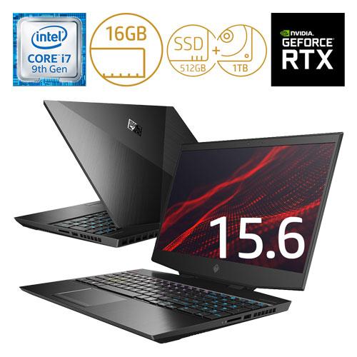 HP 7LH06PA-AAAA [OMEN15-dh0000 G1モデル(i7 16GB 512GB+1TB 15.6 2060 Pro)]