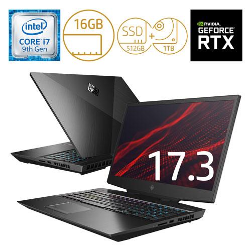 HP 7MN67PA-AAAA [OMEN17-cb0000 G1モデル(i7 16GB 512GB+1TB 2070 Pro)]