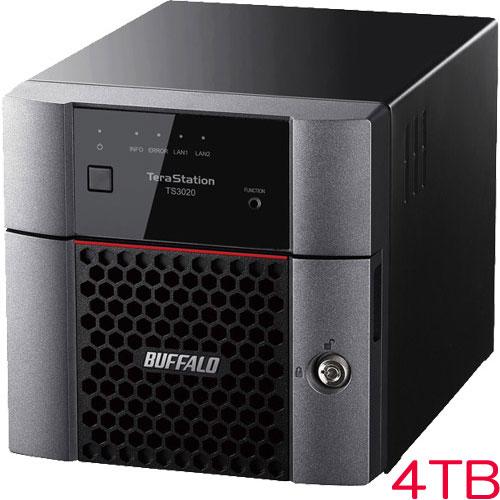 バッファロー TS3220DN0402 [TS3220DNシリーズ 2ベイデスクトップNAS 4TB]